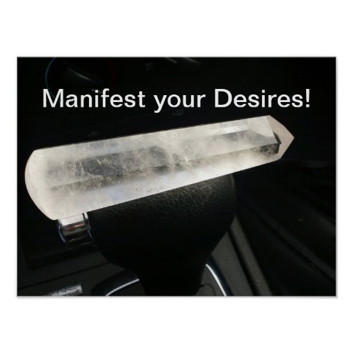 Manifest your Desires! Poster