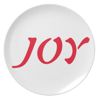 Manifestation Prayer Plates; Peace, Love, Joy... Dinner Plate