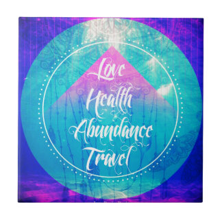 Manifesting Love Health Abundance Travel series Tile