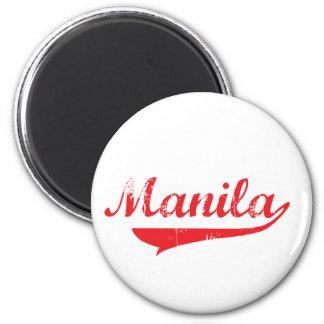 Manila 2 Inch Round Magnet