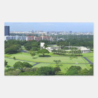 Manila American Cemetery and Memorial i Sticker