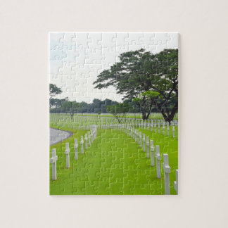Manila American Cemetery Jigsaw Puzzle