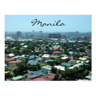 manila city postcard