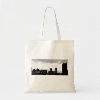 Manila City Sky Line Tote Bag