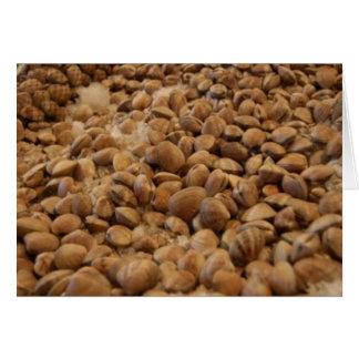 manila clams card