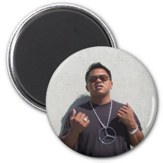 Manila Ice 2 Inch Round Magnet