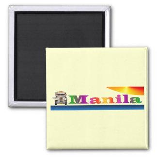 Manila Square Magnet