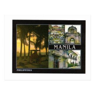MANILA PHILIPINES POSTCARD