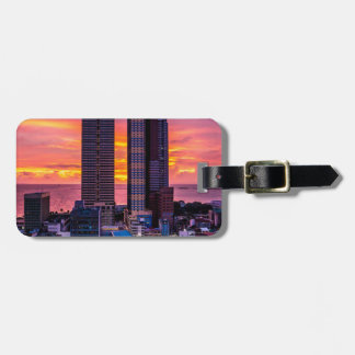 Manila Philippines Skyline Luggage Tag