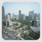 Manila Skyline Square Sticker