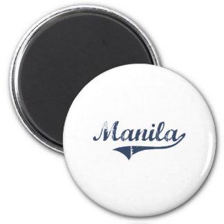 Manila Utah Classic Design Magnet