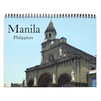 manila wall calendar
