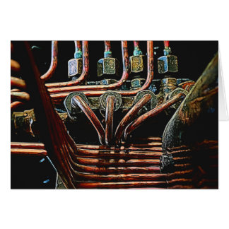 Manipulated Steam Train components Image Card