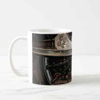 Manipulated Steam Train components Image Coffee Mug