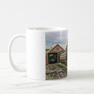 Manipulated Steam Train Image Coffee Mug