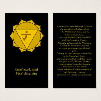 Manipura or Solar Plexus Chakra Card