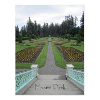 Manito Park Postcard
