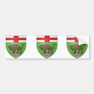 Manitoba, Canada Bumper Sticker