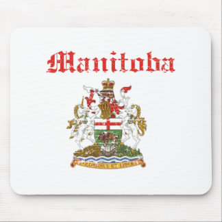 manitoba Canada coat of arms design Mouse Pad