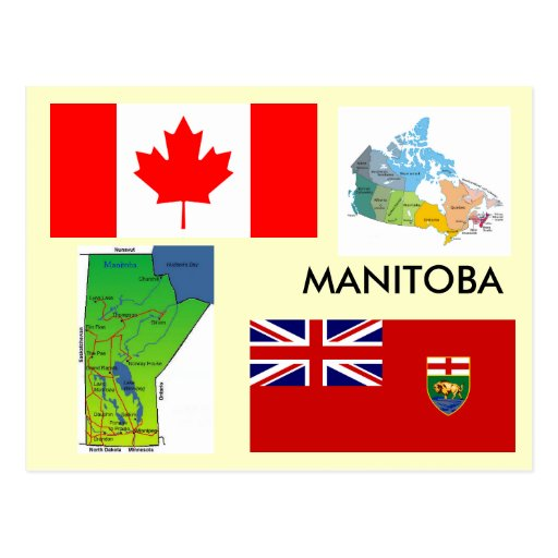 Manitoba, Canada Postcards