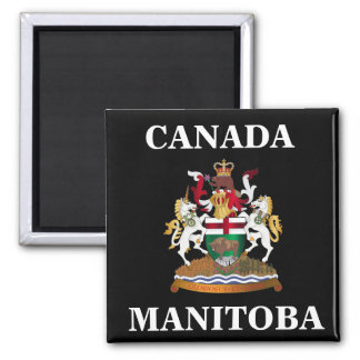 Manitoba coat of arms magnet