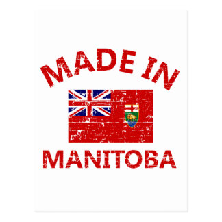 Manitoba Coat of arms Postcard