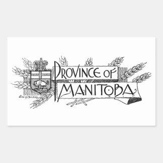 Manitoba Vintage Coat of Arms