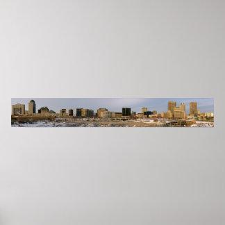 Manitoba (Winnipeg) Panoramic 1 Poster