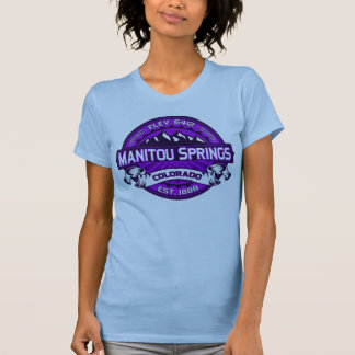 Manitou Shirt Logo Purple