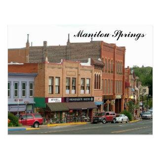 Manitou Springs Postcard