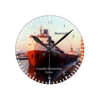 Manitoulin CSL clock