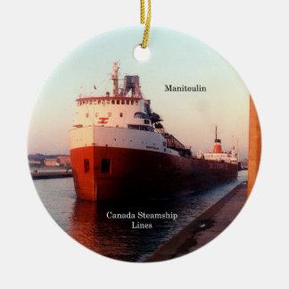 Manitoulin CSL ornament