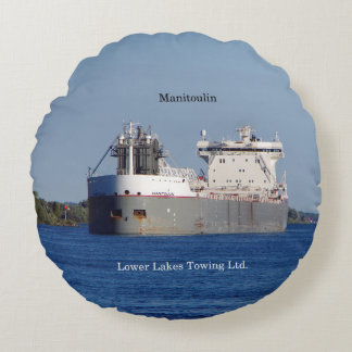 Manitoulin LLC round pillow