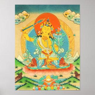 Manjushri Poster
