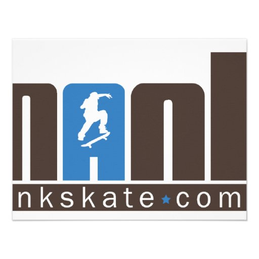 Mank Skate Custom Invitations