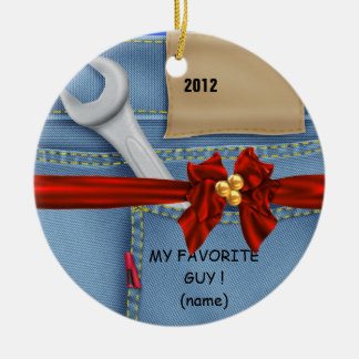 Manly 2012 ORNAMENT WRENCH PERSONALIZED