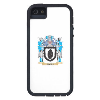 Manly Coat of Arms - Family Crest Cover For iPhone 5