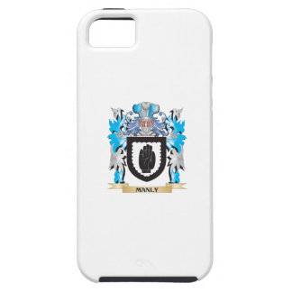 Manly Coat of Arms - Family Crest iPhone 5 Covers
