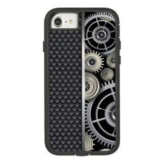 Manly Exposed Gears and Mesh Pattern Case-Mate Tough Extreme iPhone 8/7 Case