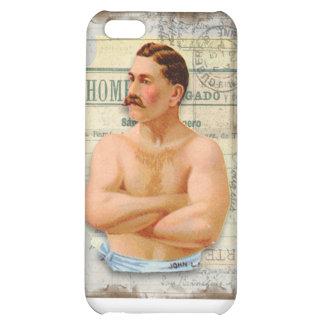 Manly-Man Vintage iPhone 5C Case