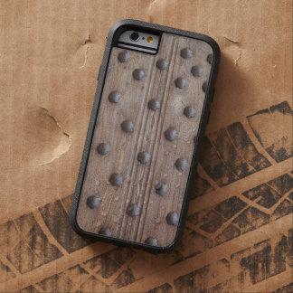 Manly Medieval Studded Wood Tough Xtreme iPhone 6 Case