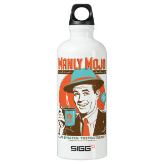 Manly Mojo Coffee Water Bottle