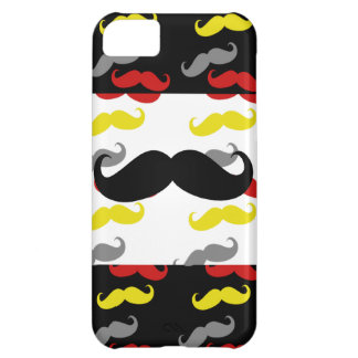 Manly Mustache Hair Colors Case For iPhone 5C