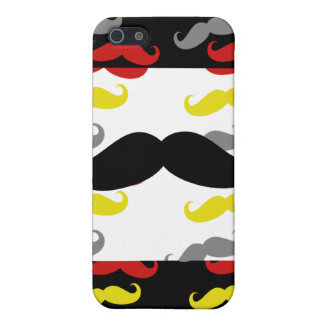 Manly Mustache Hair Colors Covers For iPhone 5