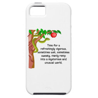 Manly Romp iPhone 5 Cover