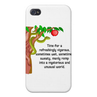 Manly Romp Cases For iPhone 4