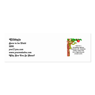 Manly Romp Pack Of Skinny Business Cards
