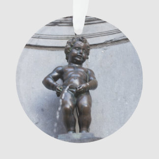 Mannekin Pis in Brussels Ornament