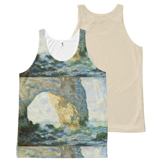 Manneporte, Rock Arch Étretat (Normandy) - Monet All-Over-Print Tank Top