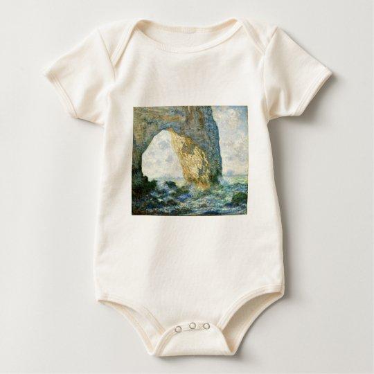 Manneporte, Rock Arch - Étretat (Normandy) - Monet Baby Bodysuit